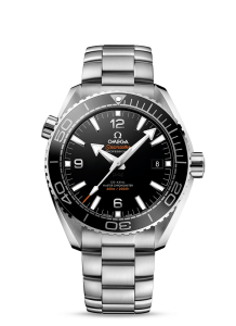 Steel Omega Seamaster Planet Ocean 600M Fake Watches By George Clooney