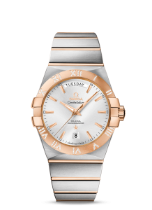 Romantic Silver Dials Omega Constellation Day-Date Replica Watches