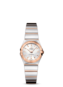 Romantic Silver Dials Omega Constellation Replica Watches