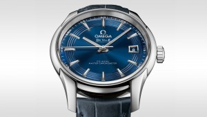 Daniel Craig Wore Blue Straps Omega De Ville Hour Vision Fake Watches UK