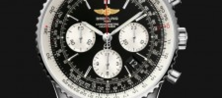 Appreciation On Replica Breitling Navitimer 01 Black Dial Black Leather Watches