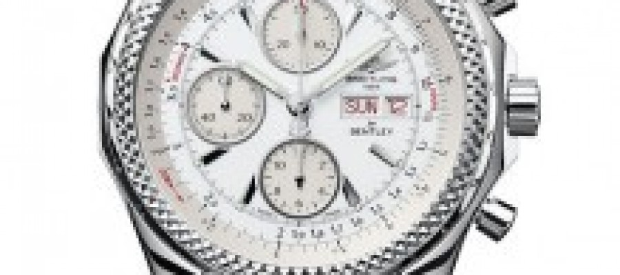 Breitling Bentley GT Ice Pretty White Replica Watches For Sale