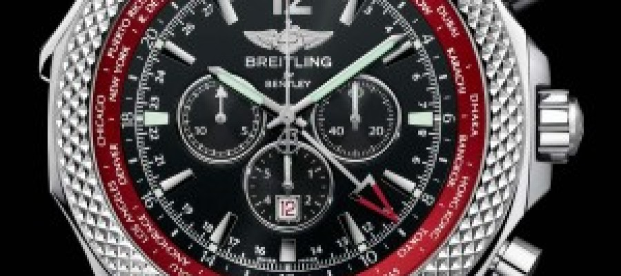 Breitling Bentley GMT V8 Steel Replica Watches For Sale