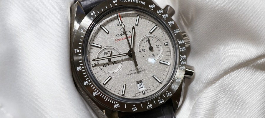 Hot Sale Omega Speedmaster Grey Side of the Moon Replica Watches
