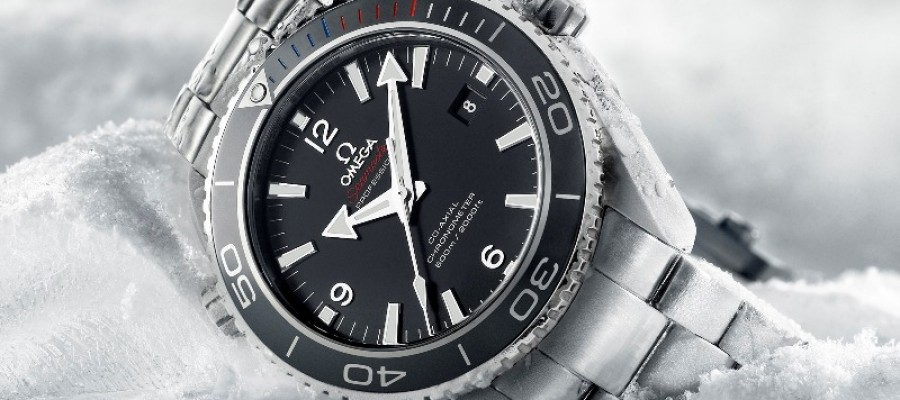 Replica Omega Seamaster Planet Ocean 45.5 mm Sochi 2014 Limited Edition