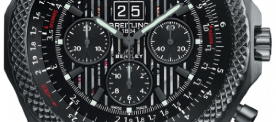 Replica Breitling Bentley 6.75 Midnight Carbon Black Dial Watches For Sale