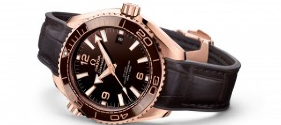 "Hot Sale Omega Seamaster Planet Ocean ""Chocolate"" Replica Watches"