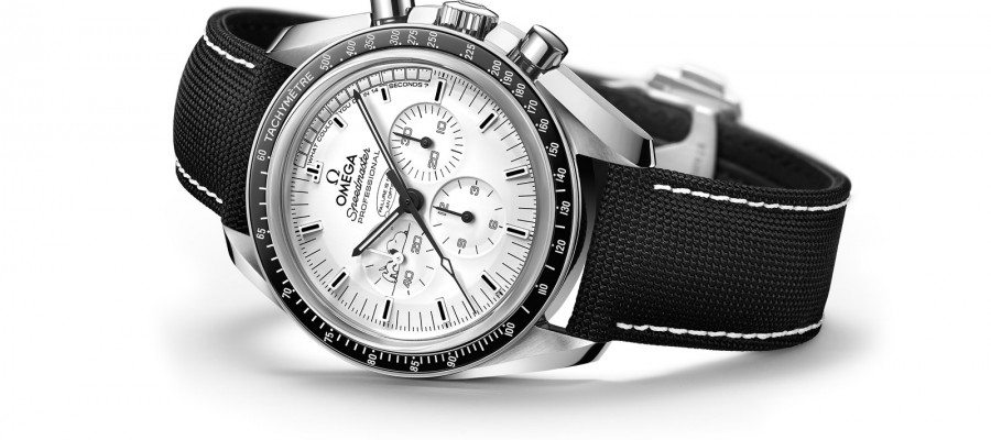 Replica Omega Speedmaster Apollo 13 Silver Snoopy Award White Dial Watches