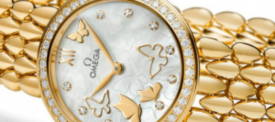 Luxury Replica Omega De Ville Prestige Dewdrop Watches For Women