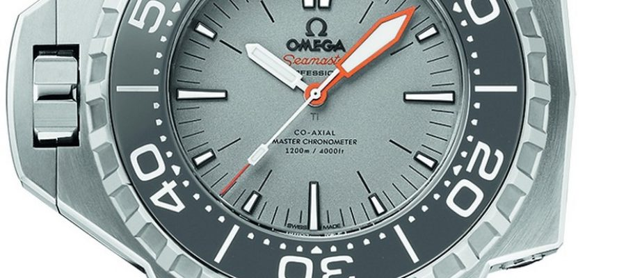 Grey dial omega seamaster ploprof 1200m swiss replica watch