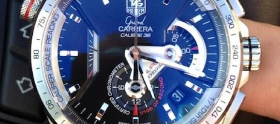 Best Replica TAG Heuer Grand Carrera Caliber 36 RS Caliper Chronograph Stainless Steel Watch