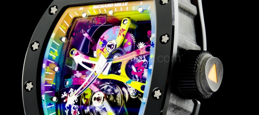 New Style Richard Mille RM 68-01 Tourbillon Replica Watch : Street art on the wrist