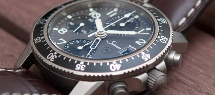 Titanium Case Sinn 103 Ti DIAPAL Pilots Chronograph Replica Watch