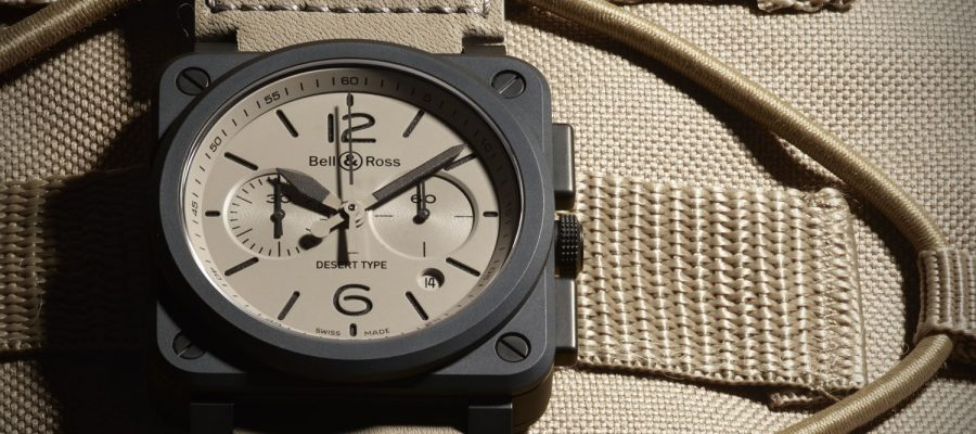 Best Ceramic Case Bell & Ross BR-03 Desert Type Replica Watch