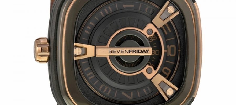 SevenFriday M2-2 Stainless Steel / PVD & Rose Gold Replica Watch