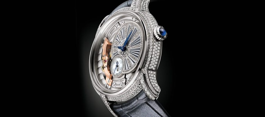 Best audemars piguet millenary diamonds replica watch for ladies