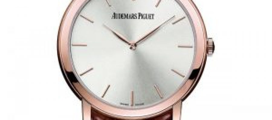 Pink gold audemars piguet jules audemars ladies watch replica