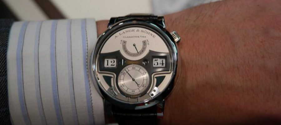 Steel A. Lange & Sohne Zeitwerk Minute Repeater Replica Watch