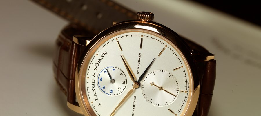 Best a. lange & sohne saxonia dual time watch replica online