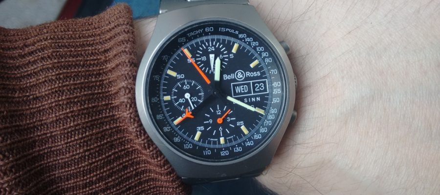 Best quality bell & ross space 2 titanium replica watch