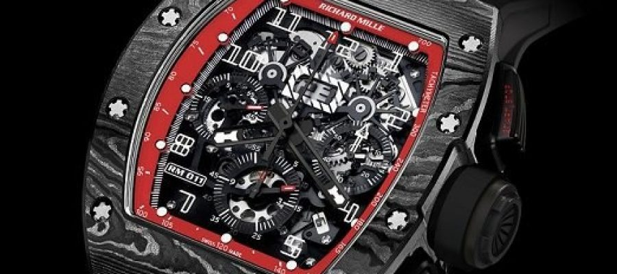 Best Richard Mille RM 011 Automatic Flyback Chronograph 'Midnight Fire' Replica Watch