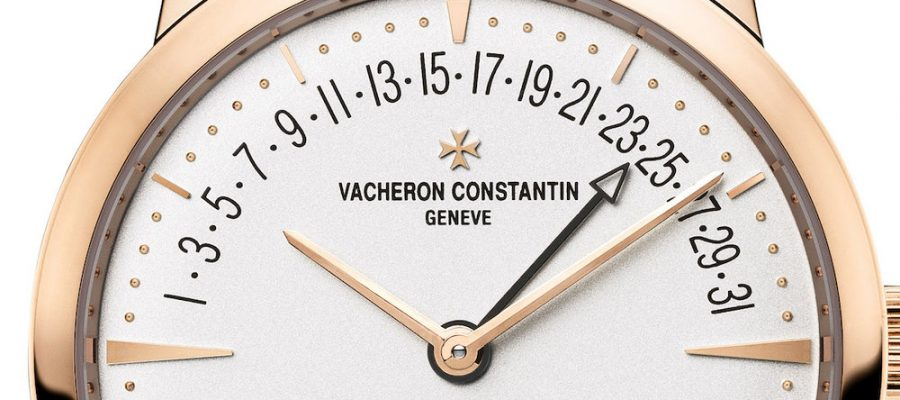 Vacheron Constantin Patrimony Moon Phase and Retrograde Date Replica Watch