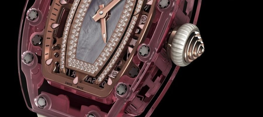 Best Quality Pink Lady Sapphire Richard Mille RM 07-02 Replica Watch