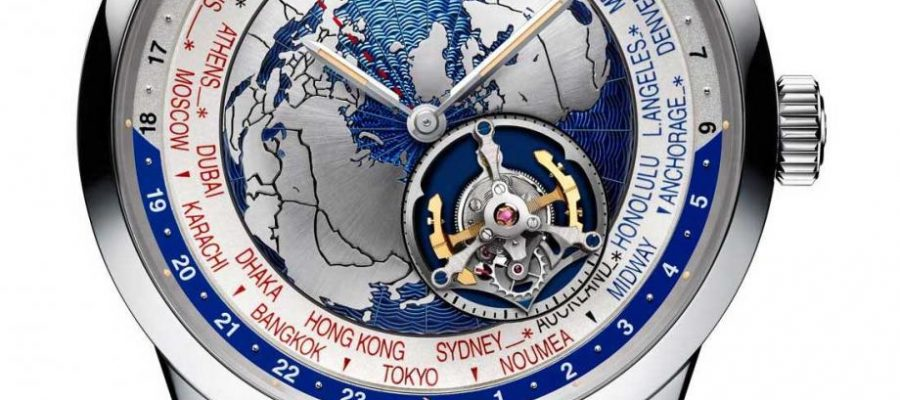 Can I Buy Jaeger-LeCoultre Geophysic Tourbillon Universal Time Watch Replica Wholesale Center