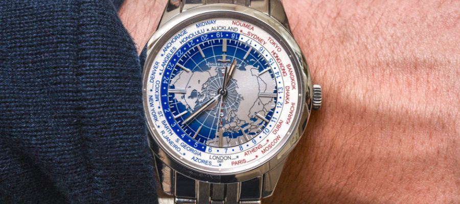 Who Sells The Best Jaeger-LeCoultre Geophysic Universal Time Watch On Bracelet Hands-On Replica Wholesale