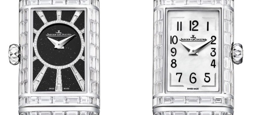 Luxury Jaeger-LeCoultre Reverso One High Jewelry Ladies Watch Replica Watches Free Shipping