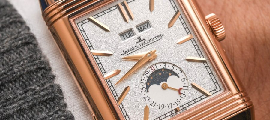Discount Jaeger-LeCoultre Reverso Tribute Calendar Watch Hands On Replica Wholesale