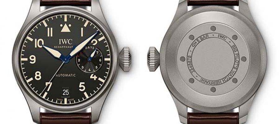 Luxury IWC – Big Pilot's Watch Heritage Replica Buying Guide
