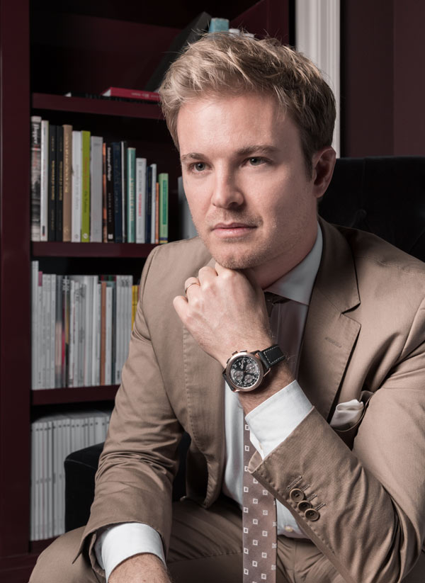 Ingenieur Chronograph  « Tribute to Nico Rosberg »