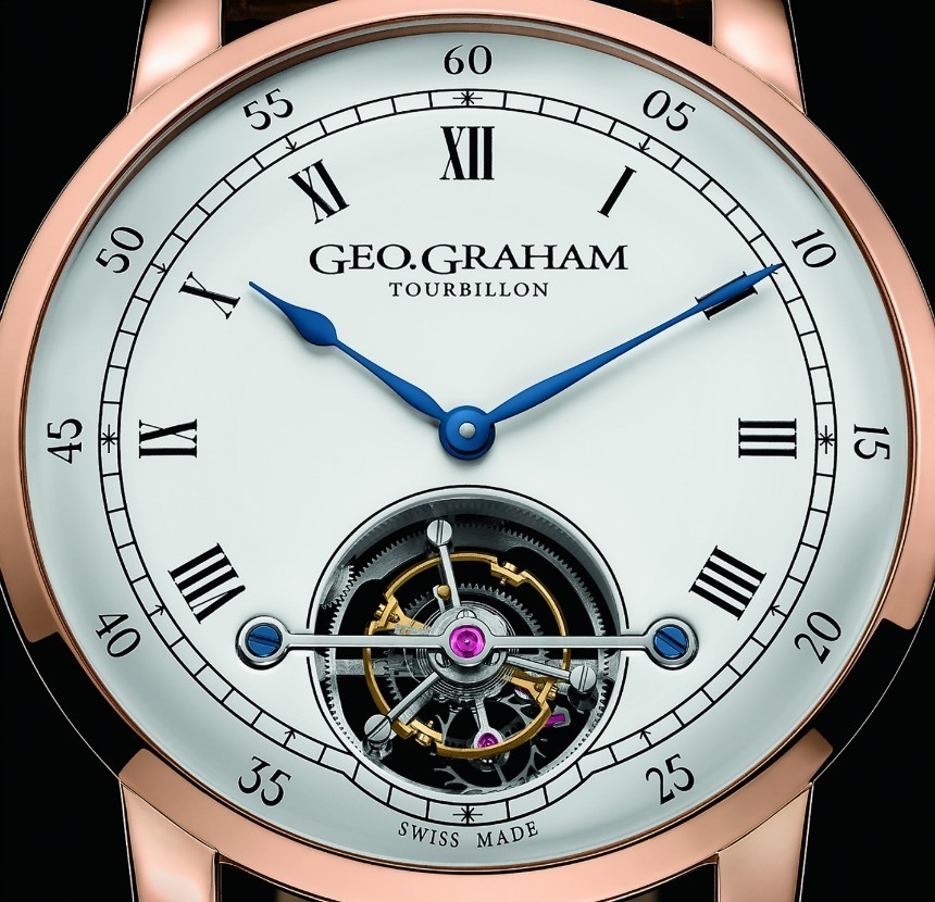 Geo.Graham Tourbillon Watch Is Nice And Simple Watch Releases