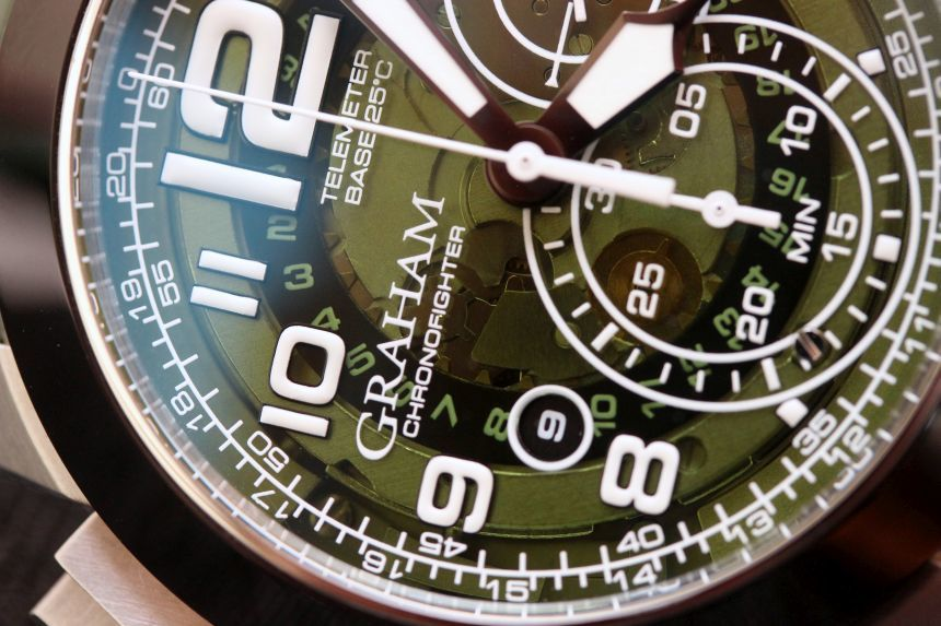 Graham Chronofighter Oversize Target Watch Review Wrist Time Reviews