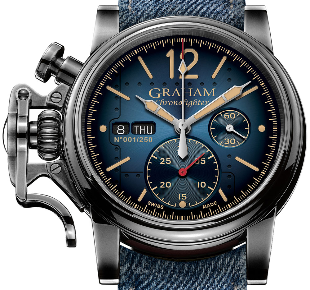Graham Chronofighter Vintage Aircraft Ltd. Watch Watch Releases