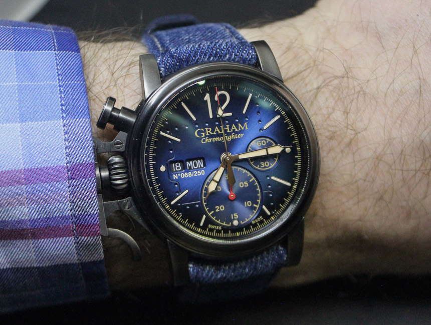 Graham Chronofighter Vintage Aircraft Watch Review Wrist Time Reviews