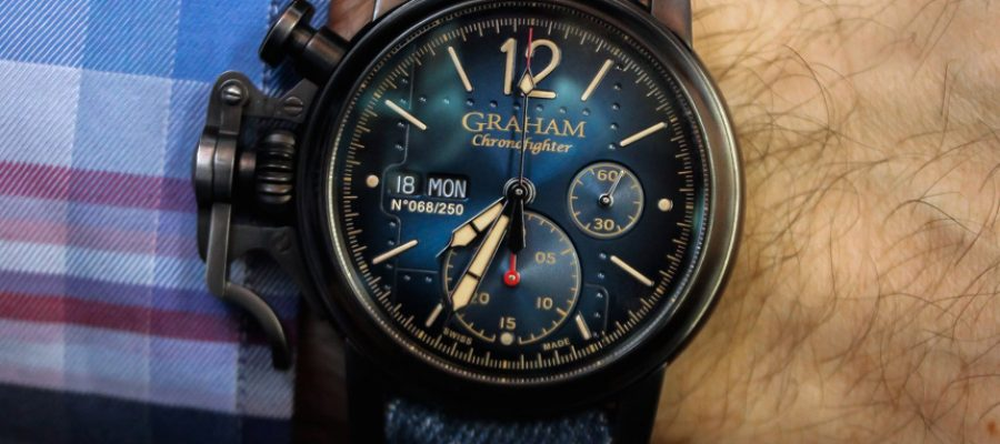Replica Clearance Graham Chronofighter Vintage Aircraft Watch Review