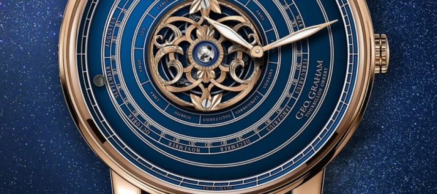 Replica Watches Buy Online Graham Geo.Graham Orrery Tourbillon Astronomical Watch With Pieces Of The Moon, Mars, & Earth