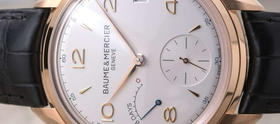 Replica Guide Trusted Dealers Baume & Mercier Clifton 8-Day Power Reserve 185th Anniversary Limited Edition