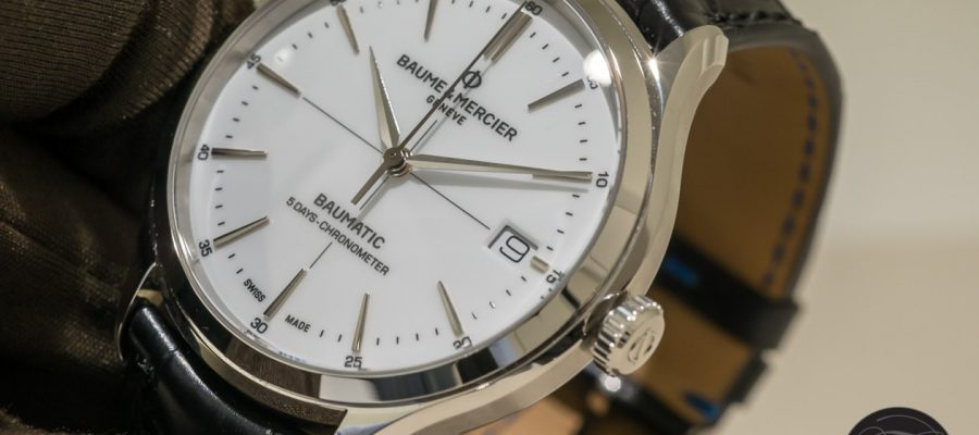 Low Price Replica Baume & Mercier Goes In-House With Their Clifton Baumatic!